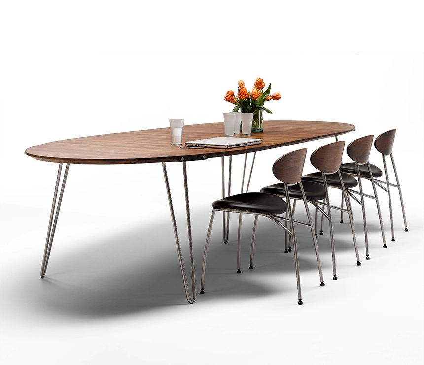 Luxury Danish Modern Dining Tables – Wharfside Intended For Recent Danish Dining Tables (View 10 of 20)