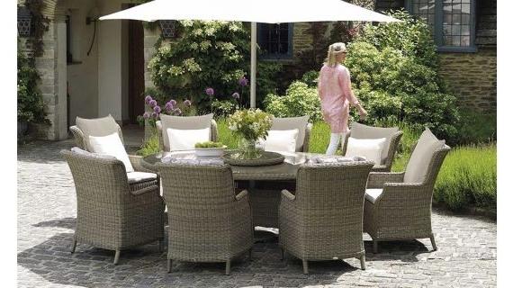 Luxury Garden Furniture (View 15 of 20)