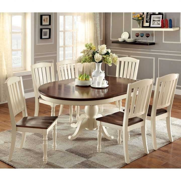 Luxury Kitchen Table And Chairs For Small Spaces Of Round Dining With Regard To Recent 6 Person Round Dining Tables (View 11 of 20)