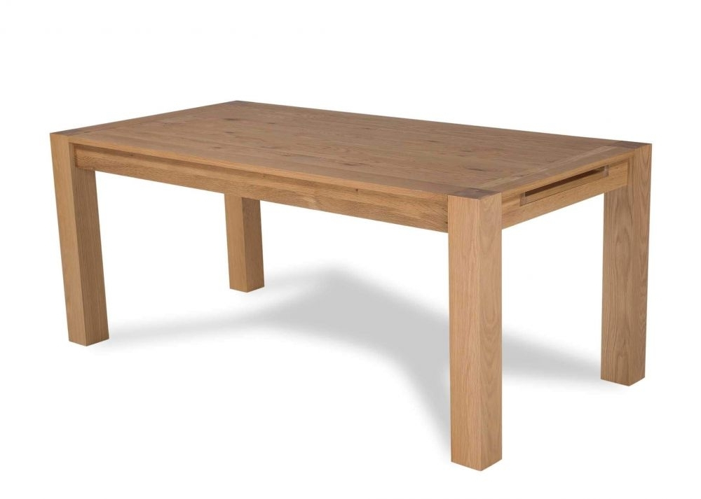 Lyon Dining Tables For Recent Solid Oak Extendable Dining Table – Lyon – Ez Living Furniture (View 11 of 20)