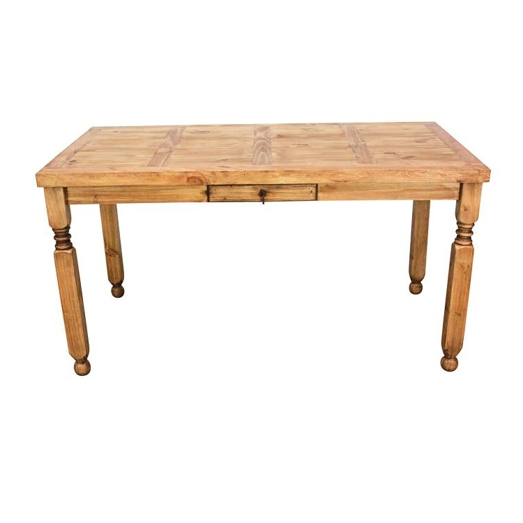 Lyon Dining Tables In Preferred Rustic Pine Collection – Lyon Dining Table – Mes (View 12 of 20)