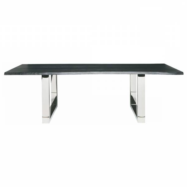 Lyon Dining Tables Throughout Well Liked Lyon Dining Table – Gray Silver – Rouse Home (View 14 of 20)