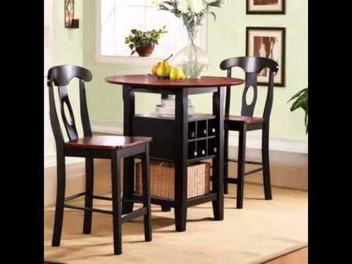 Macie 5 Piece Round Dining Sets Intended For Fashionable  (View 7 of 20)