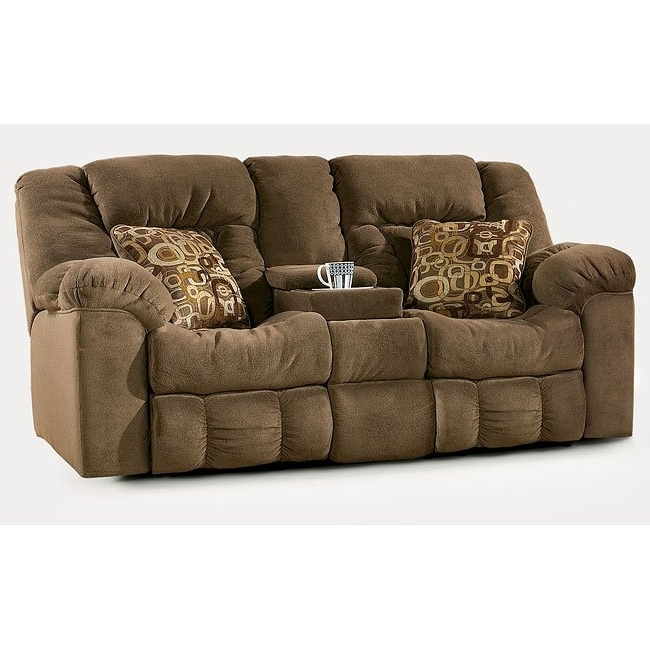 Macie – Brown Reclining Sectional Signature Designashley With Regard To Popular Macie Round Dining Tables (View 12 of 20)
