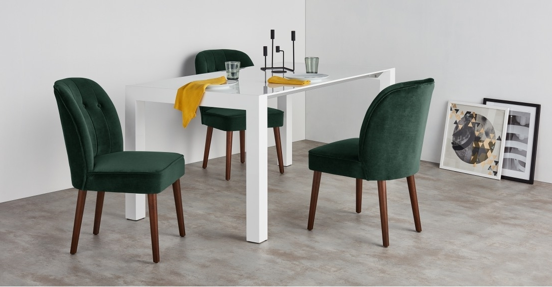 Made Regarding Green Dining Tables (View 13 of 20)