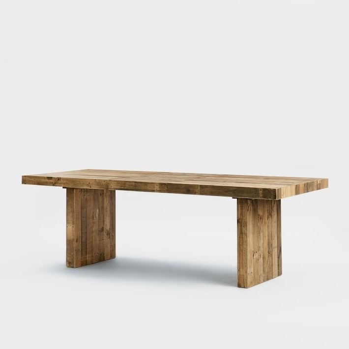 Magnolia Home Bench Keeping 96 Inch Dining Tables For Well Known Emmerson® Reclaimed Wood Expandable Dining Table (View 10 of 20)