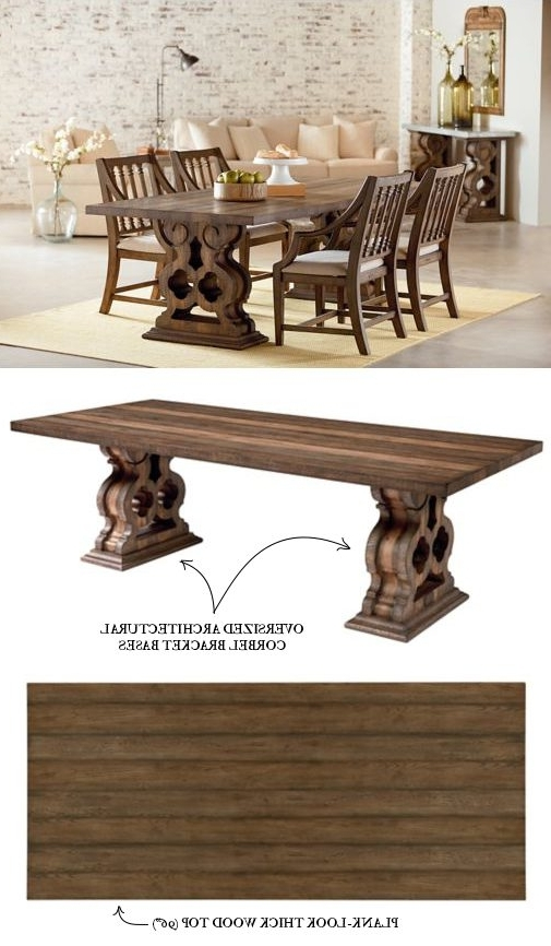 Magnolia Home Double Pedestal Dining Tables With Regard To Preferred Introducing Magnolia Home Furniture – Part  (View 11 of 20)