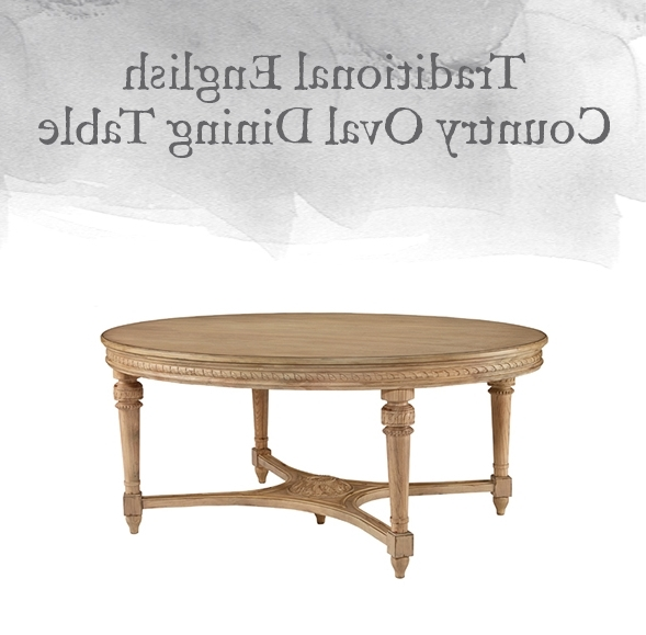 Magnolia Home English Country Oval Dining Tables Inside Best And Newest Magnolia Home Preview: Traditional Collection (View 7 of 20)