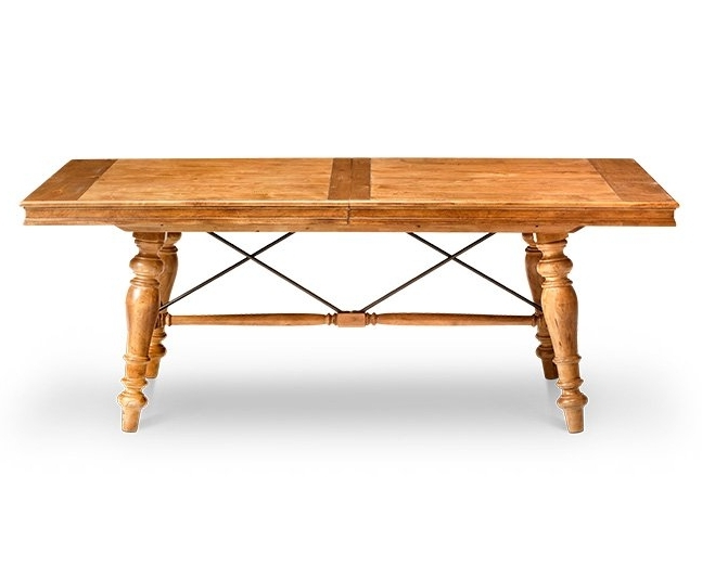 Magnolia Home English Country Oval Dining Tables Pertaining To Fashionable Dining Tables, Kitchen Tables (View 8 of 20)