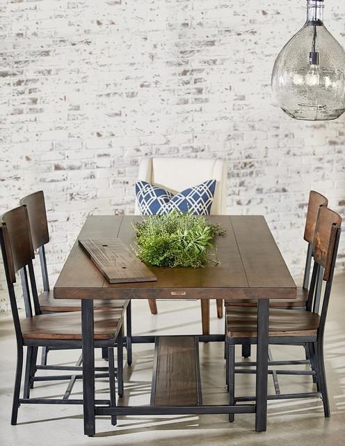 Magnolia Home Framework Dining Table With Planter – Industrial Pertaining To Recent Magnolia Home Shop Floor Dining Tables With Iron Trestle (View 9 of 20)