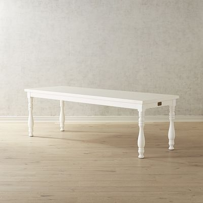 Magnolia Home Taper Turned Jo's White Gathering Tables Pertaining To Popular 72 Best Redbrook Th Model Images On Pinterest (View 11 of 20)