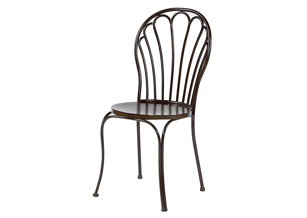 Magnolia Home Taper Turned Jo's White Gathering Tables Pertaining To Popular Penland's Furniture Peacock Chair, Blackened Bronze (Set Of 2) (View 16 of 20)