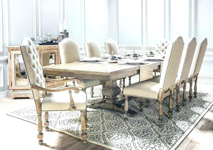 Magnolia Home Top Tier Round Dining Tables Regarding Trendy Modest Design Living Spaces Dining Room Tables Magnolia Home Top (View 12 of 20)