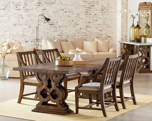 Magnolia Home White Keeping 96 Inch Dining Tables Within Trendy Magnolia Home Furniture And Design (View 11 of 20)