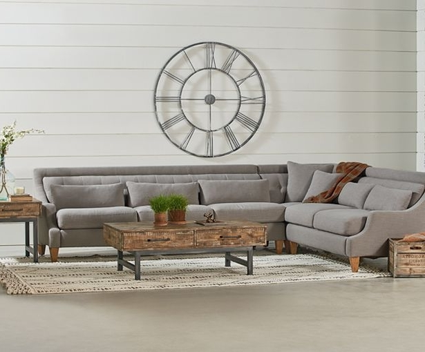 Magnolia Homejoanna Gaines: New Pieces In All Collections With Regard To Most Popular Magnolia Home Homestead 4 Piece Sectionals By Joanna Gaines (View 7 of 15)