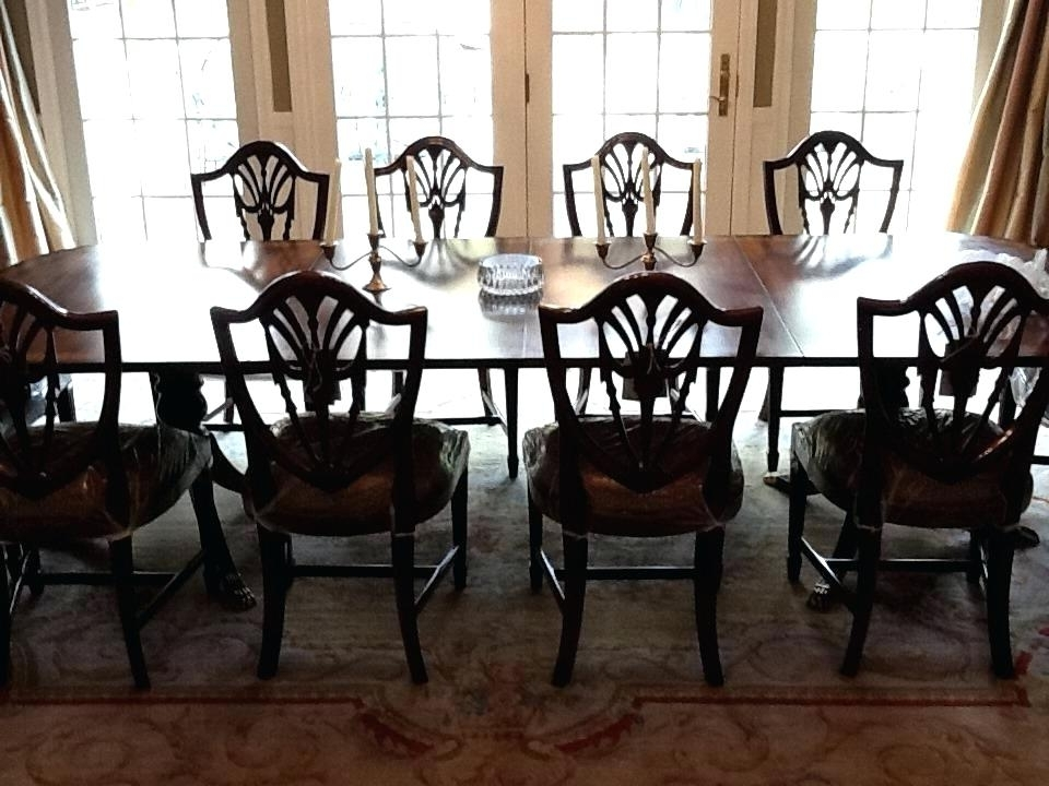 Mahogany Dining Room Set Mahogany Dining Room Sets Shield Back Intended For 2018 Mahogany Dining Tables Sets (View 9 of 20)