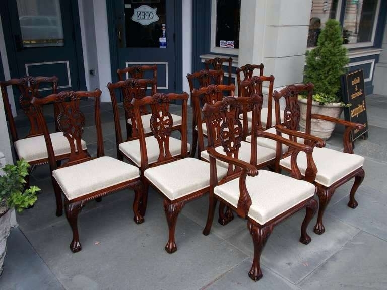 Mahogany Dining Room Set Medium Size Of Neoclassical Mahogany Dining Regarding Most Up To Date Mahogany Dining Table Sets (View 4 of 20)