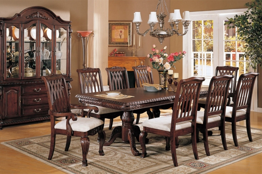 Mahogany Dining Tables Sets In Most Up To Date Mahogany Dining Room Furniture; A Timeless Beauty With An Imperial Look (View 15 of 20)