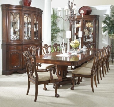 Mahogany Dining Tables Sets Intended For Recent Mahogany And More Writing Tables – Heritage Mahogany 13 Piece Dining Set (View 19 of 20)