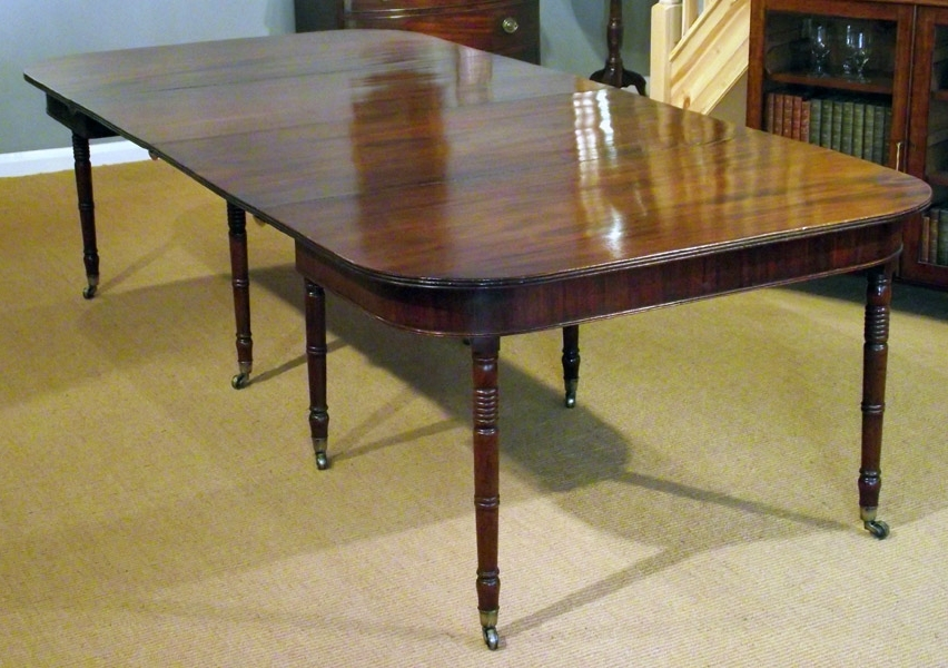 Mahogany Extending Dining Tables And Chairs Inside Favorite Antique Extending Table / Georgian Mahogany Dining Table : Antiques (View 11 of 20)