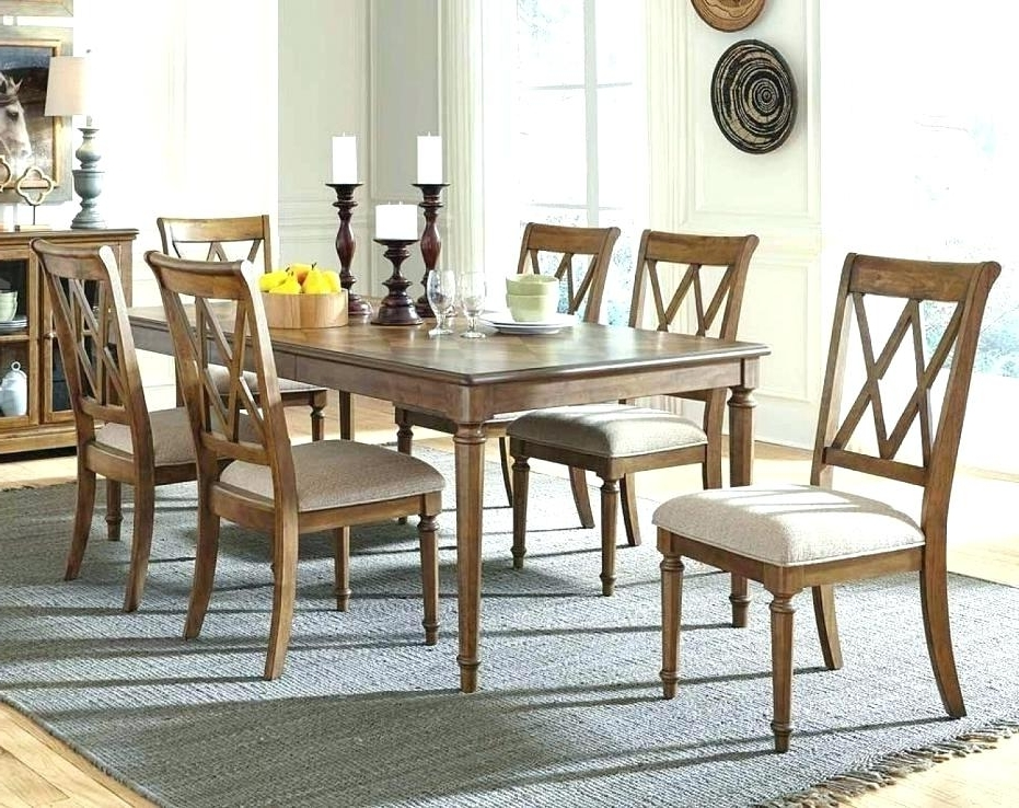 Mallard Extension Dining Tables With Regard To Best And Newest Gorgeous Living Spaces Dining Sets Mallard 7 Piece Extension Dining (View 14 of 20)