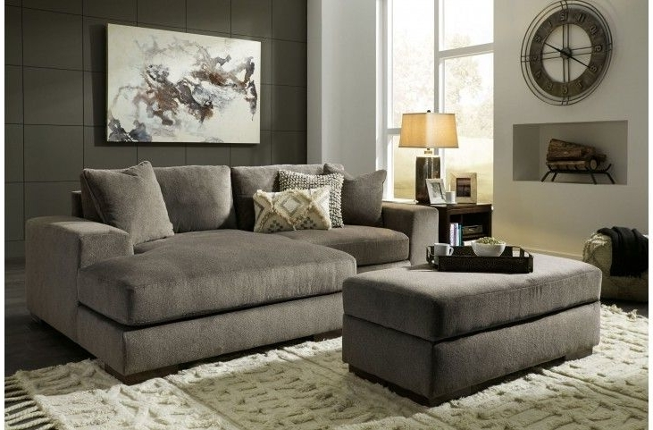 Manzani Gray Raf Sectional From Ashley (View 3 of 15)