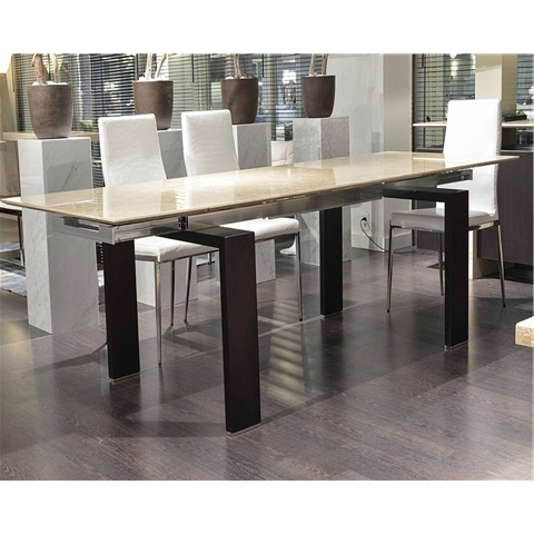 Marble Dining Sets With Popular Extending Marble Dining Tables (View 10 of 20)