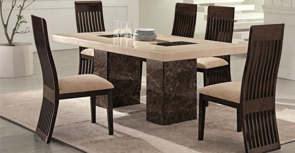 Marble Furniture: Dining Table Furniture Online – Cfs Uk Regarding Well Known Marble Dining Chairs (View 12 of 20)