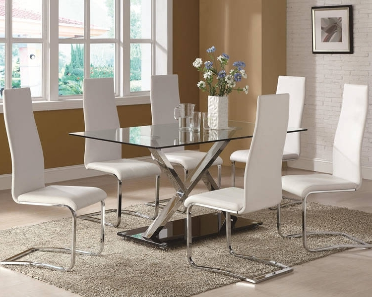 Marble & Glass Top Dining Tables: 10 Pros & Cons Of The Beauty Regarding Most Recent Marble Effect Dining Tables And Chairs (View 6 of 20)