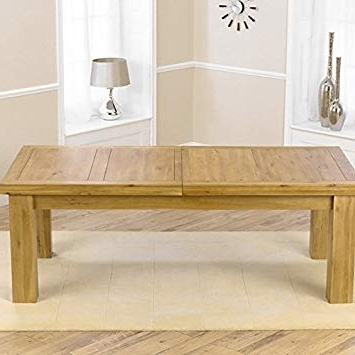 Mark Harris Laurent Solid Oak Dining Table: Amazon.co (View 14 of 20)