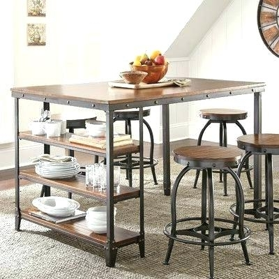 Market 5 Piece Counter Sets Pertaining To Trendy Counter Level Dining Sets Market 5 Piece Counter Set Dining Room (View 4 of 20)