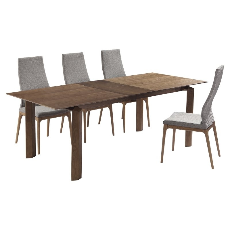 Market 7 Piece Dining Sets With Host And Side Chairs Pertaining To Most Recently Released Home Chic Pamplona 5 Piece Dining Set In  (View 10 of 20)