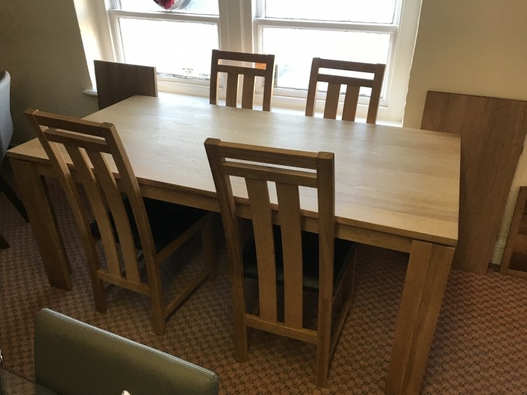 Mayfair Dining Tables Pertaining To Well Known Mayfair Dining Table & 4 Chairs (View 8 of 20)