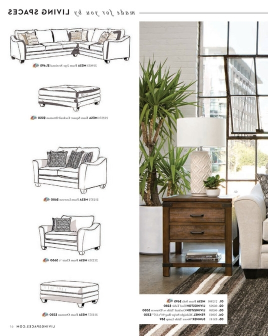 Mesa Foam 2 Piece Sectionals Within Fashionable Living Spaces – Spring 2018 – Mesa Foam 2 Piece Sectional (View 7 of 15)