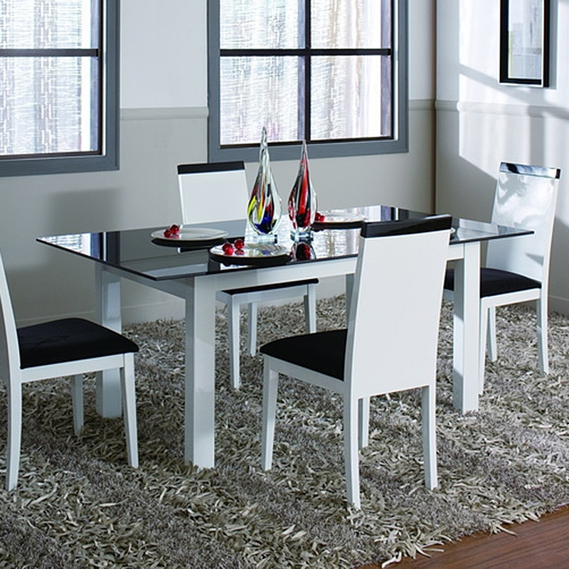Metro Dining Table (White) For Latest Metro Dining Tables (View 10 of 20)