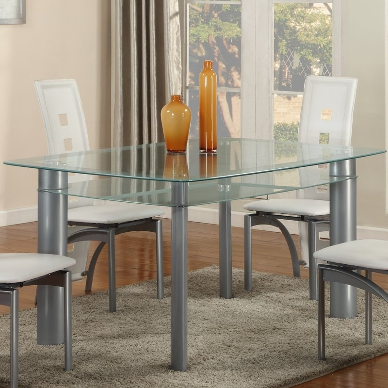 Metro Dining Tables Regarding Most Popular Globaltradingunlimited Metro Dining Table (View 20 of 20)