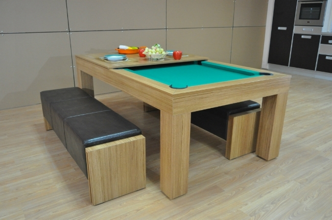 Milano Pool Dining Table – Eight To Ten Seater – Sam Leisure Intended For Famous Dining Tables For Eight (View 13 of 20)