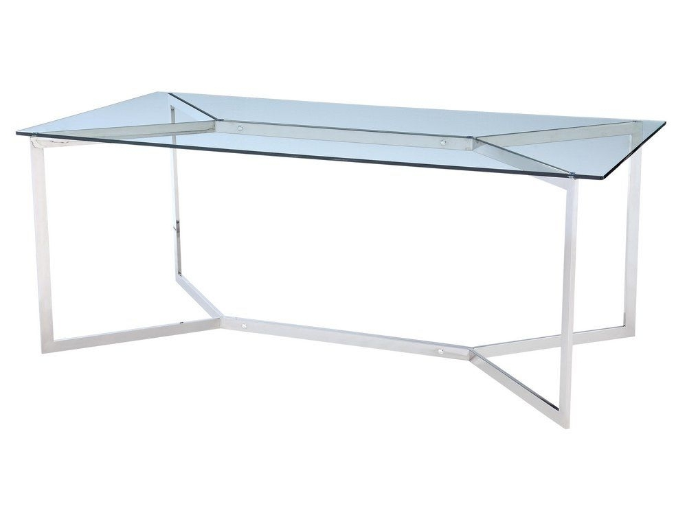 Minimal Metal Dining Table (View 11 of 20)
