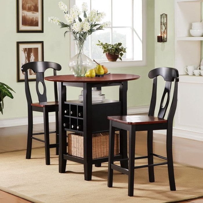 Minimalist Dining Tables For Intended For Most Up To Date Dining Tables For Two (View 10 of 20)