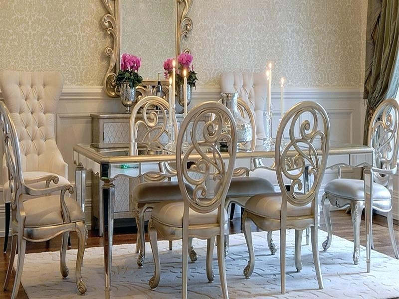 Mirrored Dining Table Mirrored Dining Table Round – Netcoding (View 9 of 20)