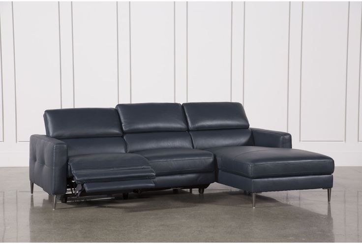 Modern Couch Within Favorite Tess 2 Piece Power Reclining Sectionals With Laf Chaise (View 8 of 15)
