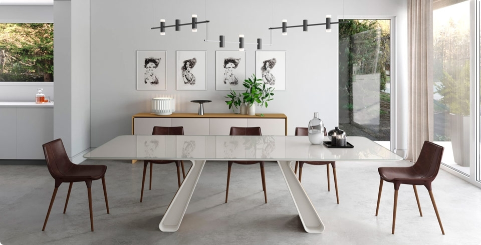 Modern Digs In Contemporary Dining Tables (View 5 of 20)