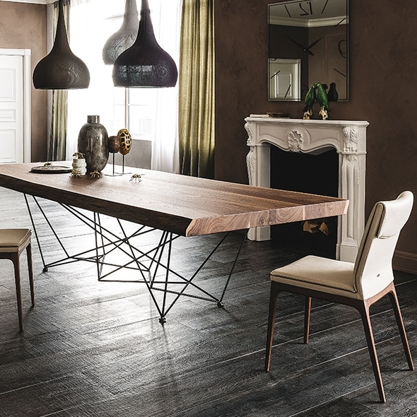 Modern Dining Room Furniture With Recent Modern Dining Room Furniture – Modern Dining Tables, Dining Chairs (View 12 of 20)