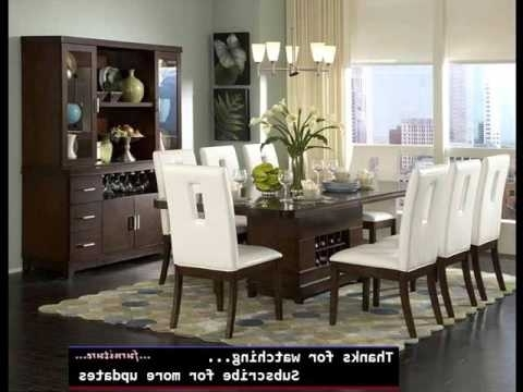 Modern Dining Room Sets With Widely Used Dining Room Furniture Modern (View 15 of 20)