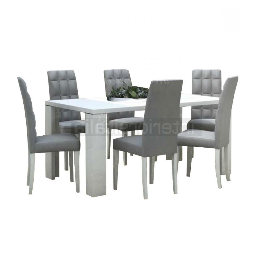 [%Modern Dining Set | 0% Interest Free Finance Available Intended For Preferred Gloss Dining Set|Gloss Dining Set With Regard To Most Recent Modern Dining Set | 0% Interest Free Finance Available|Best And Newest Gloss Dining Set In Modern Dining Set | 0% Interest Free Finance Available|Most Recently Released Modern Dining Set | 0% Interest Free Finance Available With Gloss Dining Set%] (View 8 of 20)