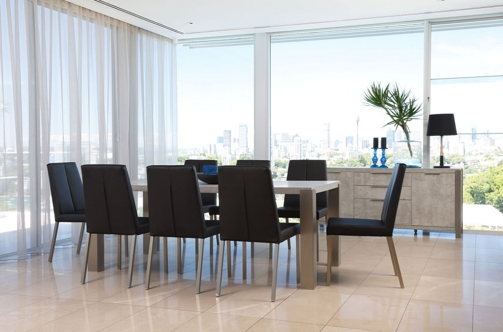 Modern Dining Suites Intended For Well Liked Nine Dining Room Suites To Get You Inspired (View 12 of 20)