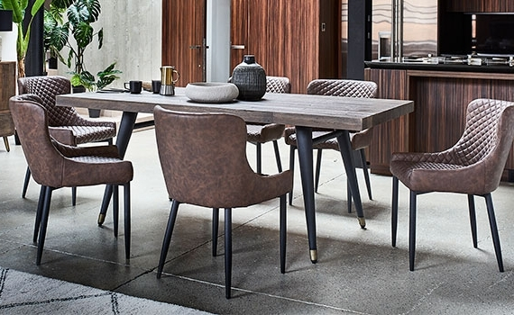 Modern Dining Suites Regarding Most Current Dining Room Furniture (View 14 of 20)