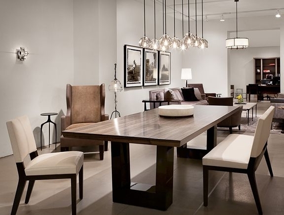 Modern Dining Table And Chairs Regarding Current Contemporary Dining Room (View 9 of 20)