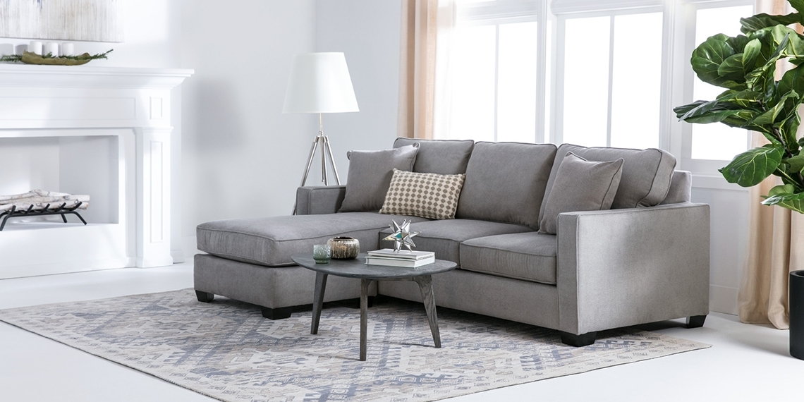 Modern Living Room With Egan Sofa (View 15 of 15)