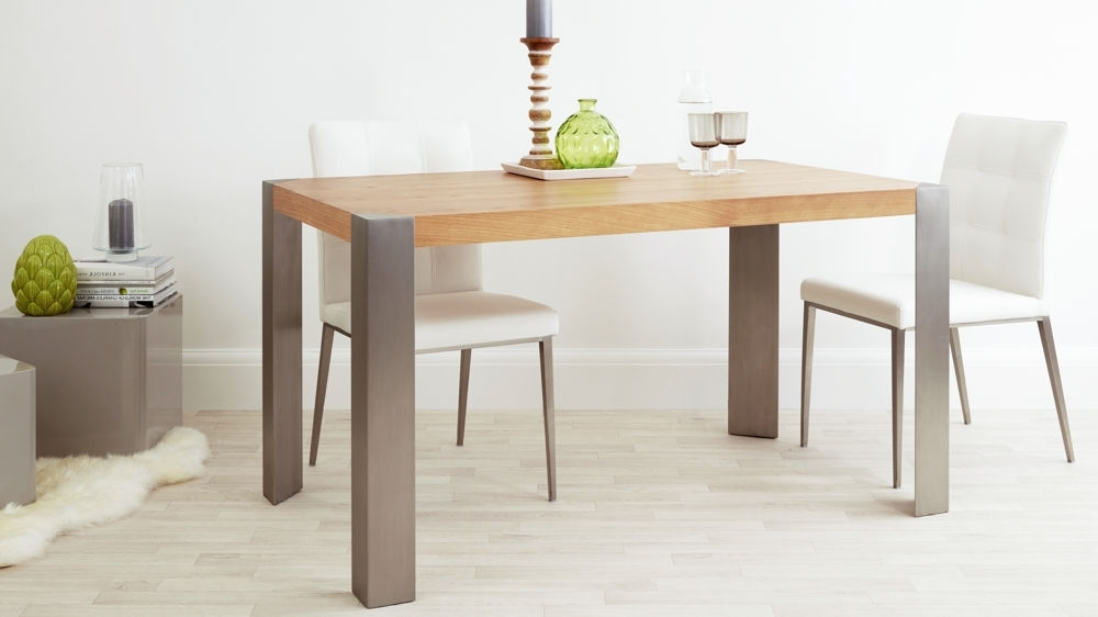 Modern Oak Dining Table (View 13 of 20)